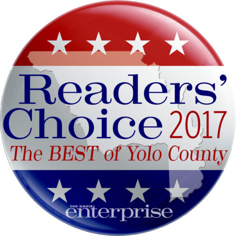 Jeff Likes Clean Windows & Gutters won the Readers Choice 2017 award for being the best of Yolo County