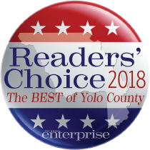 Jeff Likes Clean Windows & Gutters won the Readers Choice 2018 award for being the best of Yolo County