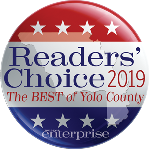 Jeff Likes Clean Windows & Gutters won the Readers Choice 2019 award for being the best of Yolo County