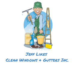 Jeff Likes Clean Windows & Gutters Logo