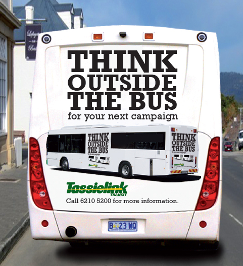 Tassielink Bus Advertising program