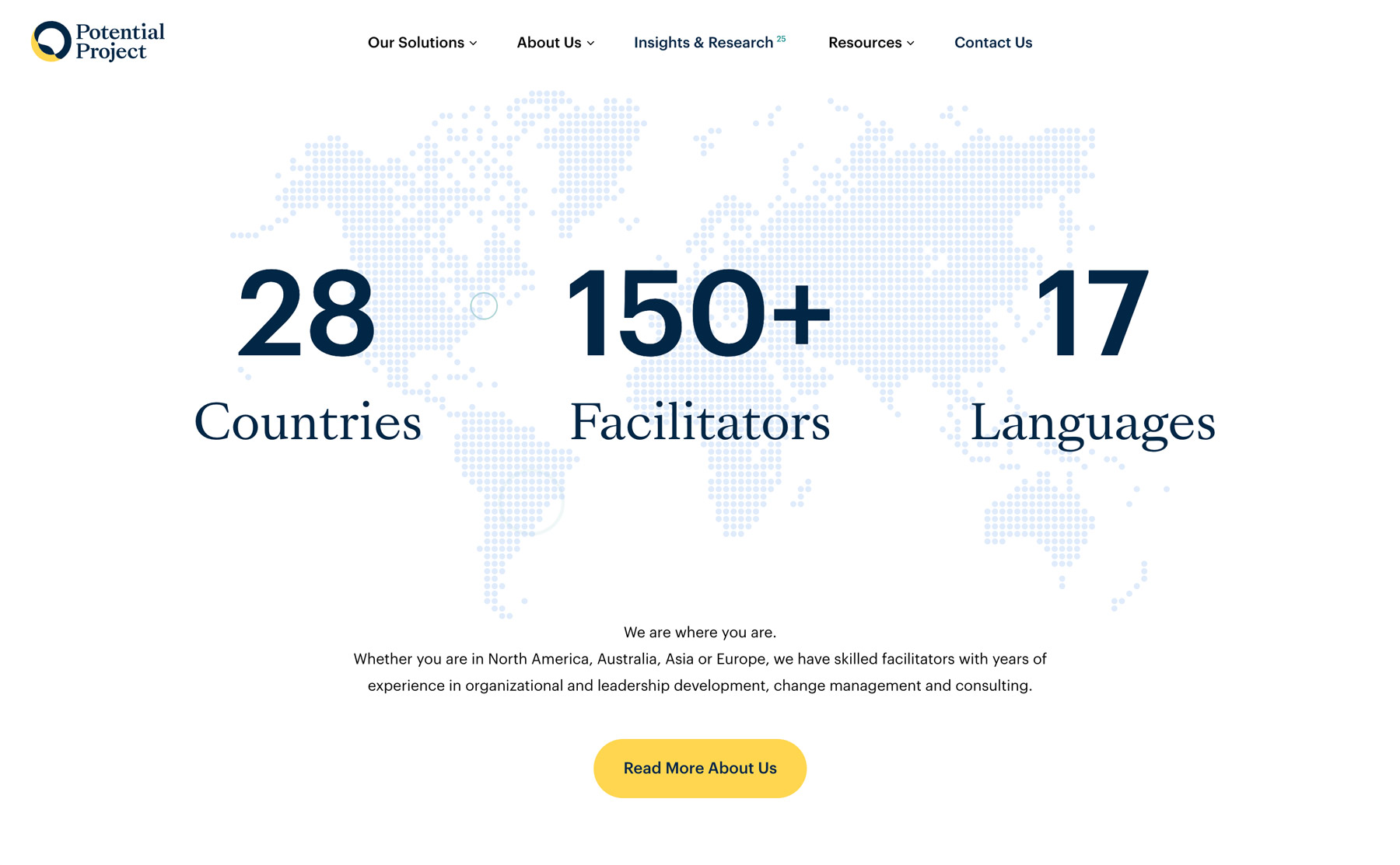 the picture shows that the new website can tell where they are located in the world