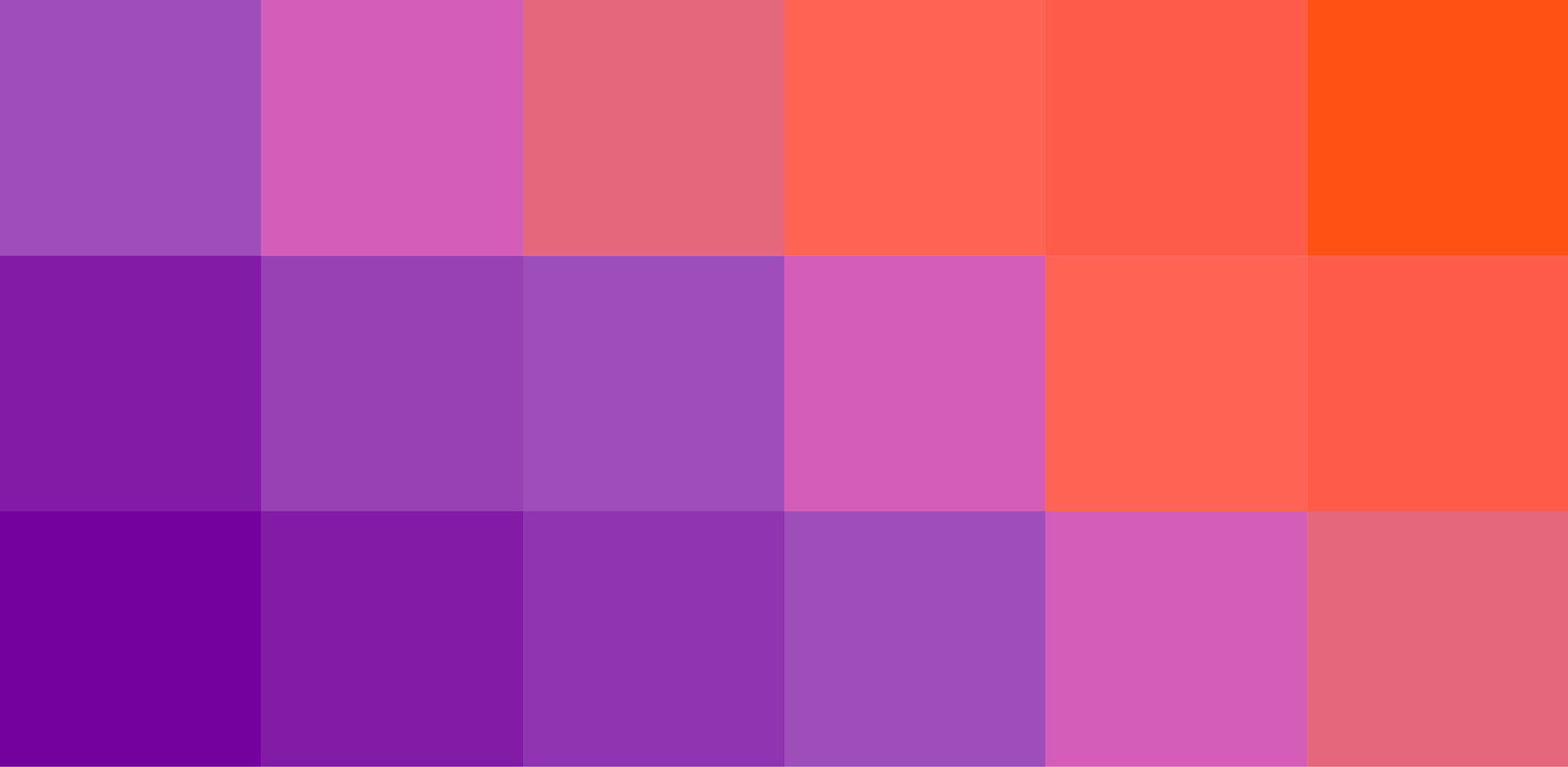 Outtake of purple and orange colored pixels from the Nordisk Games website