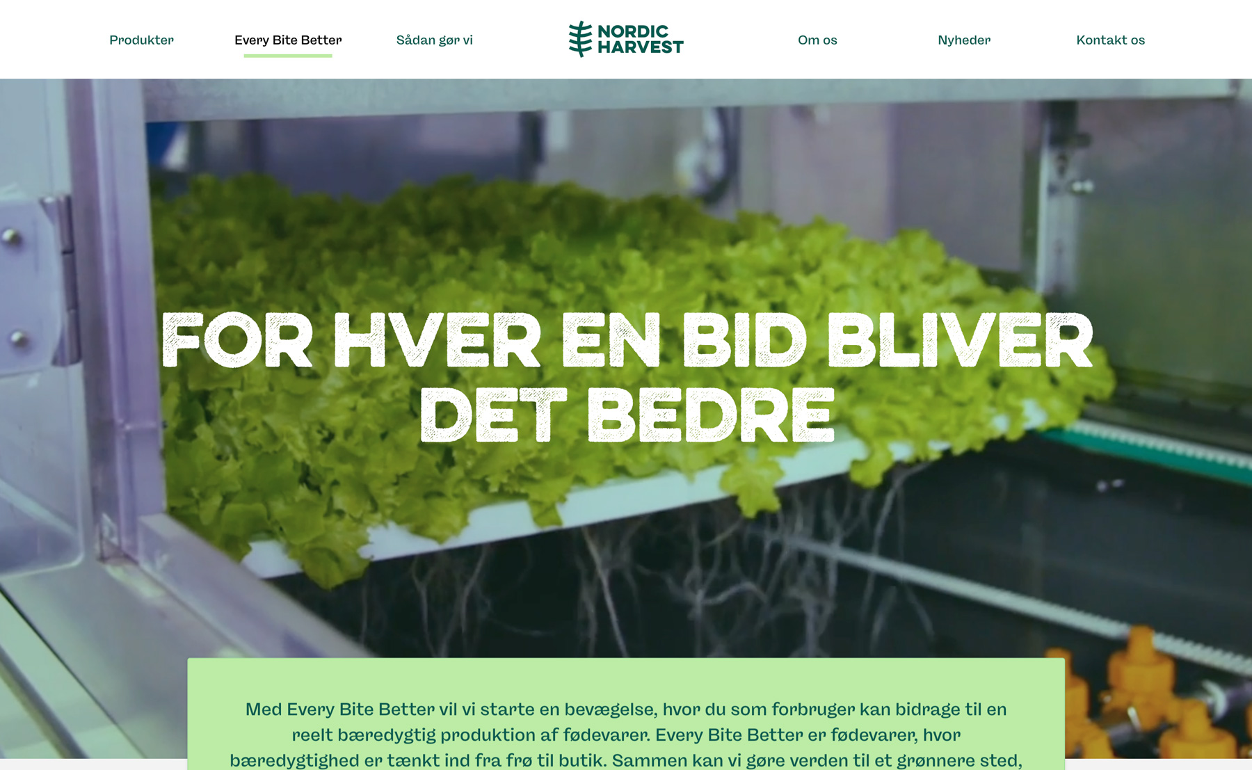 the nordic harvest design of every bit better