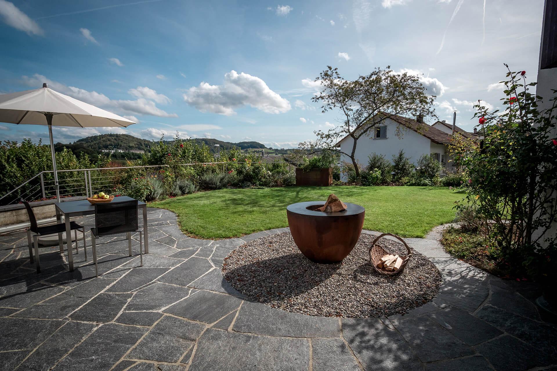 Garten von Stamm Gartenbau in Schaffhausen