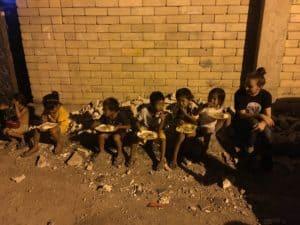 Eine warme Mahlzeit für die Ärmsten