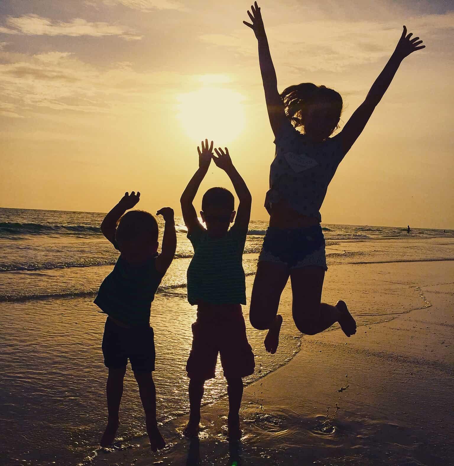 Familie auf Weltreise Sumpfkinder