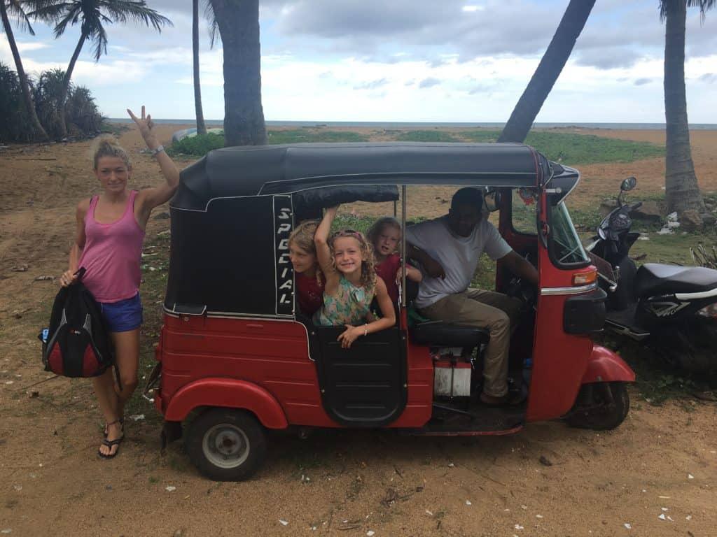 Familie auf Weltreise Die Leichsenring Sri Lanka Klein Indien