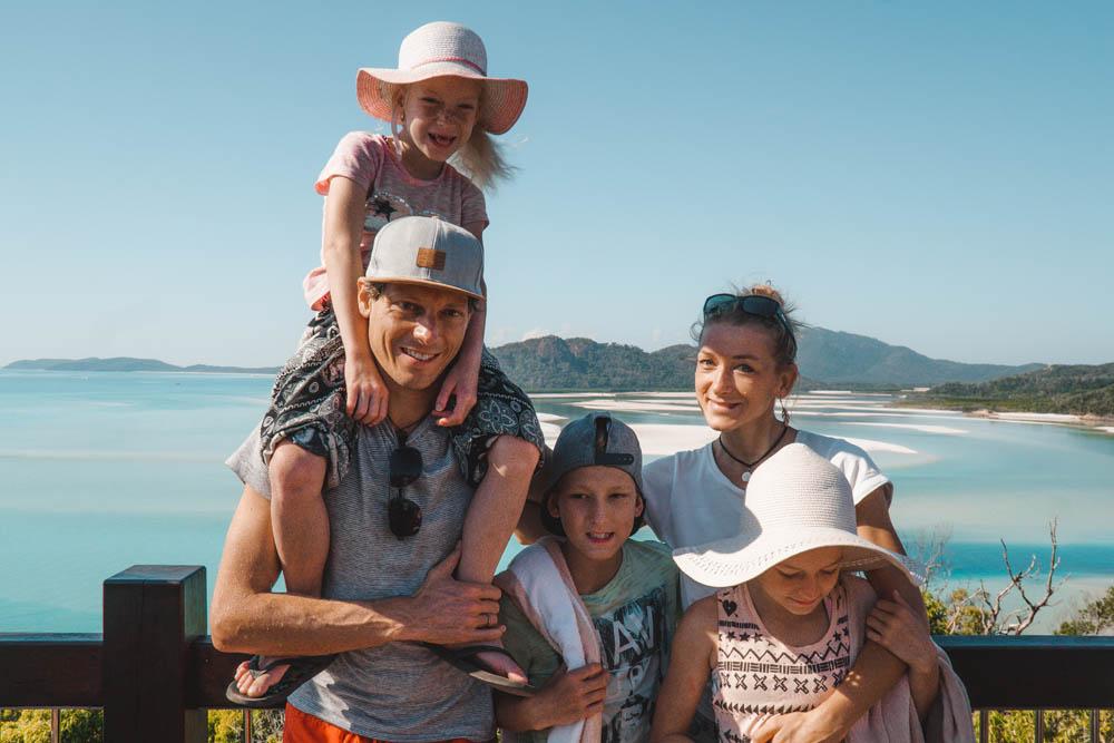 Australien Familie auf Weltreise Die Leichsenrings Airlie Beach Touristenort für jedermann