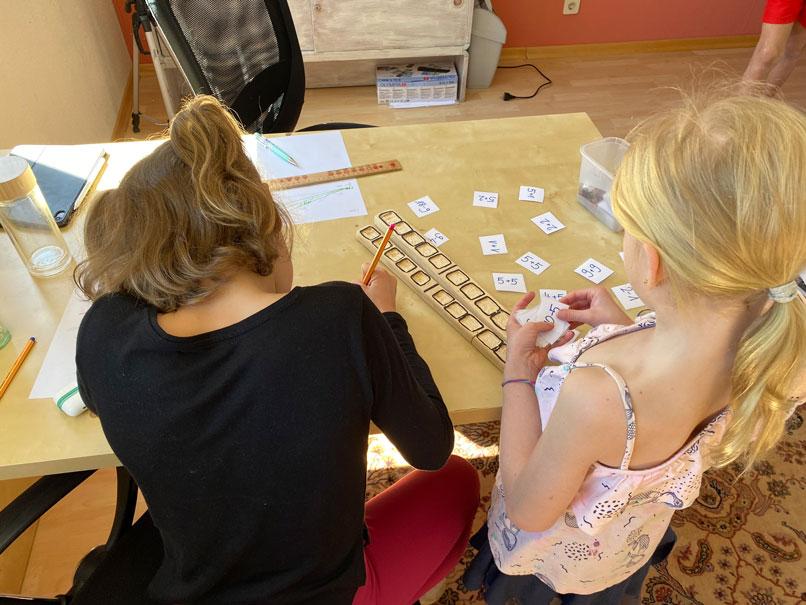 Familie auf Weltreise Die Leichsenrings Mathe Lern-Lust