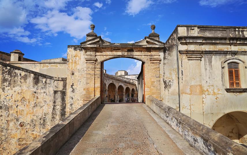 San Felipe del Morro fortress at San Juan, Puerto Rico