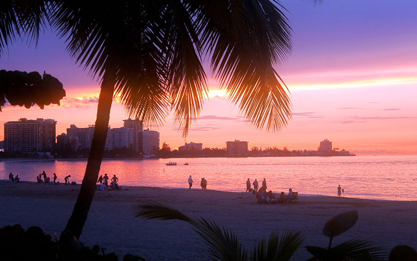 Enjoy an enriched life, gazing off into a tropical sunset in Puerto Rico