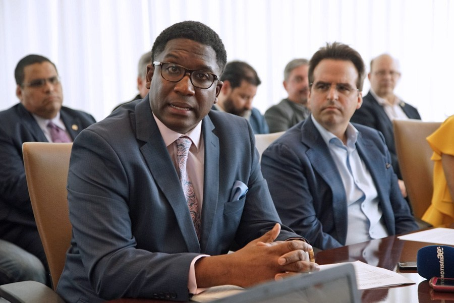 Rodrick Miller, who has held leadership positions in economic development agencies throughout the U.S. mainland, met with the governor to talk about InvestPR's mission and what other jurisdictions are doing to stay ahead in an increasingly competitive landscape