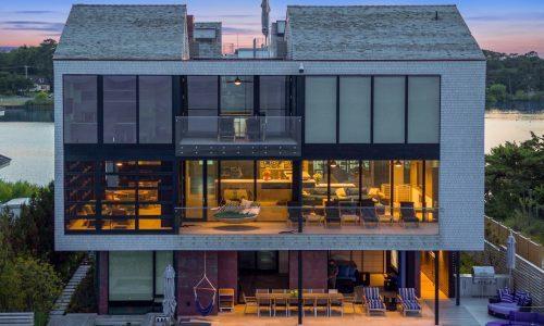 10-Bedroom Beach Home Is Lighting, Shading Design Masterpiece