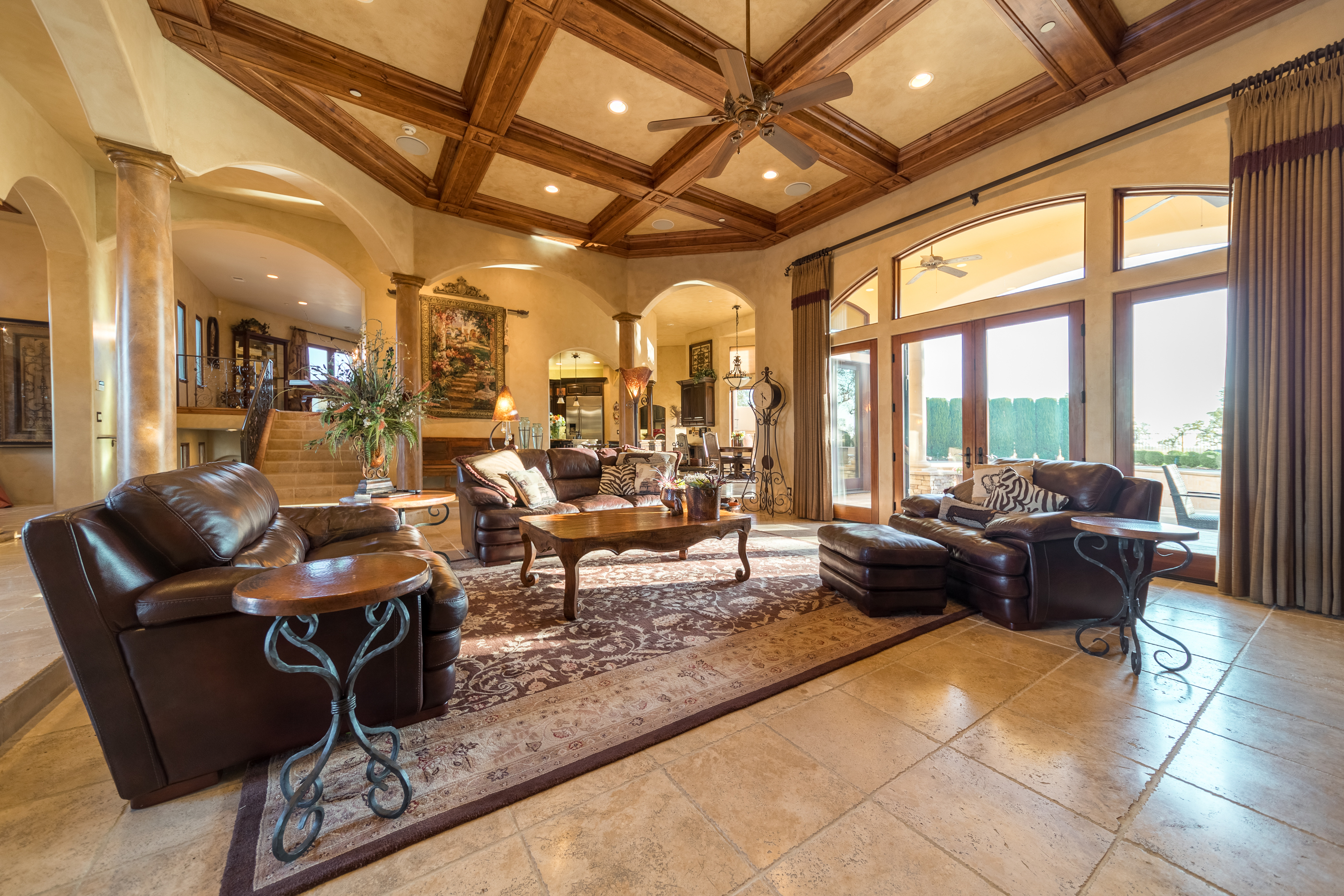 photography portfolio example - luxury living room
