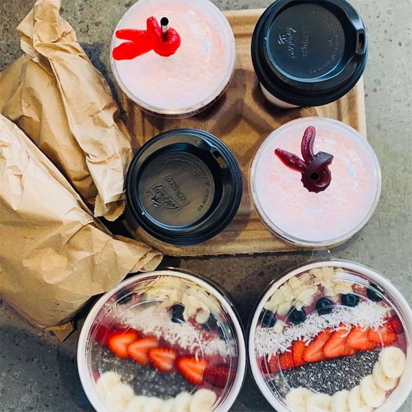 Crushing It Juice Bar and Ruins Cafe pre-orders