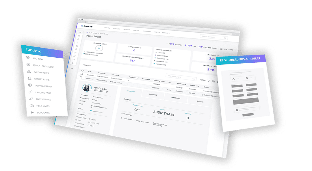 The cloud-based software adapts flexibly to your requirements, integrates seamlessly into your processes and synchronizes your data so that you are always up-to-date.