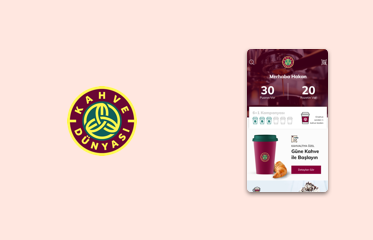 Kahve Dünyası Mobil Uygulama Kullanıcı Deneyimi Tasarımı