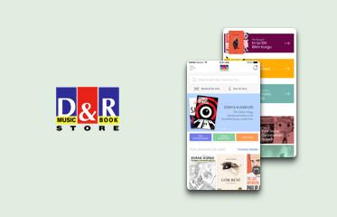D&R Mobil Uygulama Kullanıcı Deneyimi Tasarımı