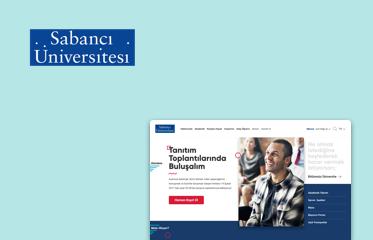 Sabancı Üniversitesi Web Sitesi Kullanıcı Deneyimi Tasarımı