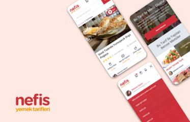 Nefis Yemek Tarifleri Web Sitesi Kullanıcı Deneyimi Tasarımı