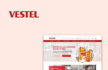 Vestel Web Sitesi Kullanıcı Deneyimi Tasarımı
