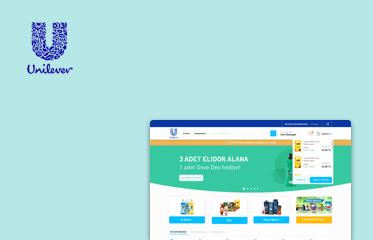 Unilever Satıcı Platformu Web Sitesi Kullanıcı Deneyimi Tasarımı