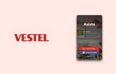 Vestel Asista Akıllı Asistan Mobil Kullanıcı Deneyimi Tasarımı