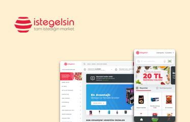 istegelsin Web Sitesi ve Mobil Uygulama Kullanıcı Deneyimi Tasarımı