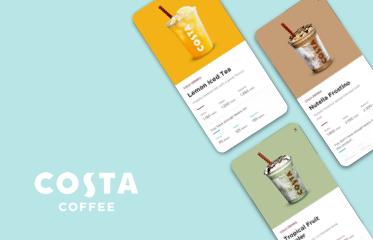 Costa Coffee Mobil Uygulama Kullanıcı Deneyimi Tasarımı