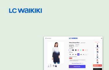 LC Waikiki Mağaza İçi Kiosk Kullanıcı Deneyimi Tasarımı