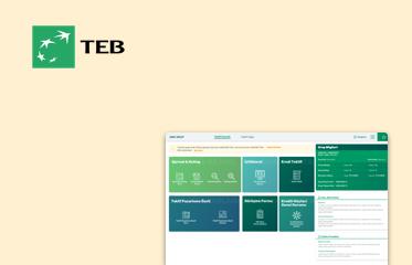 TEB Kurumsal Kredi Başvuru İç Ekranları Kullanıcı Deneyimi Tasarımı