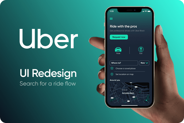 Uber UI Redesign