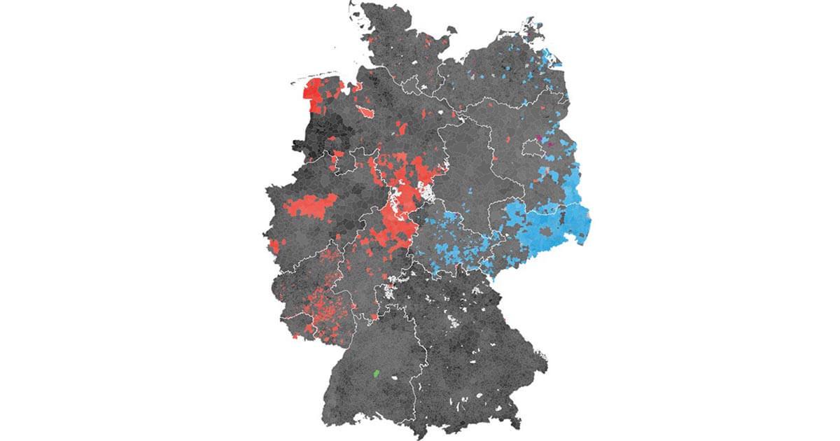 chropleth map