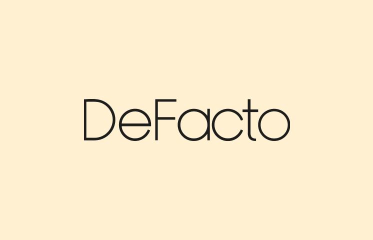 DeFacto Responsive Web Sitesi ve Mobil Uygulama Deneyim Tasarımı Projesi