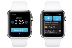 Timely on Apple Watch