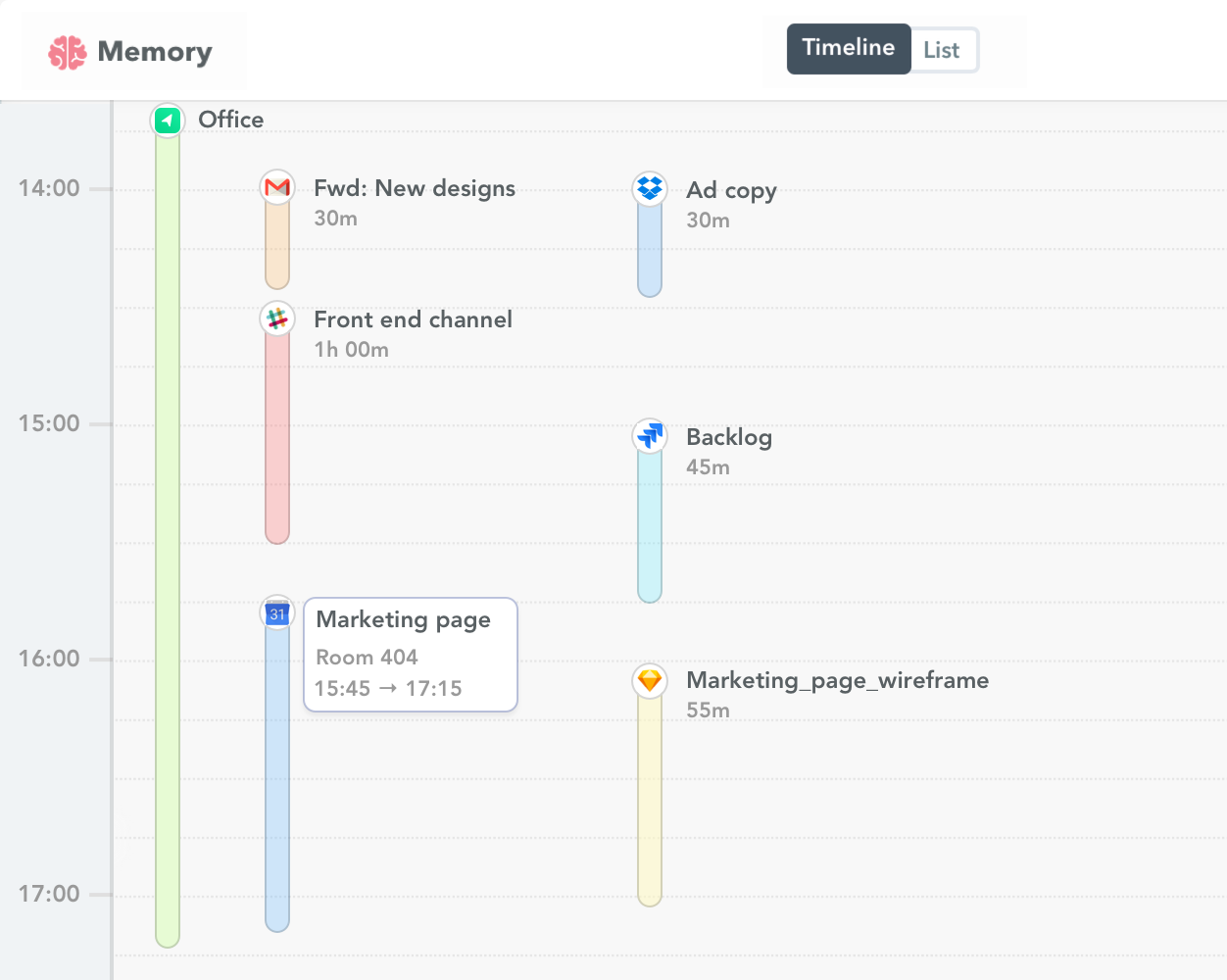Google calendar time tracking 2x
