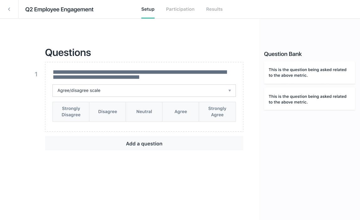 Design your survey