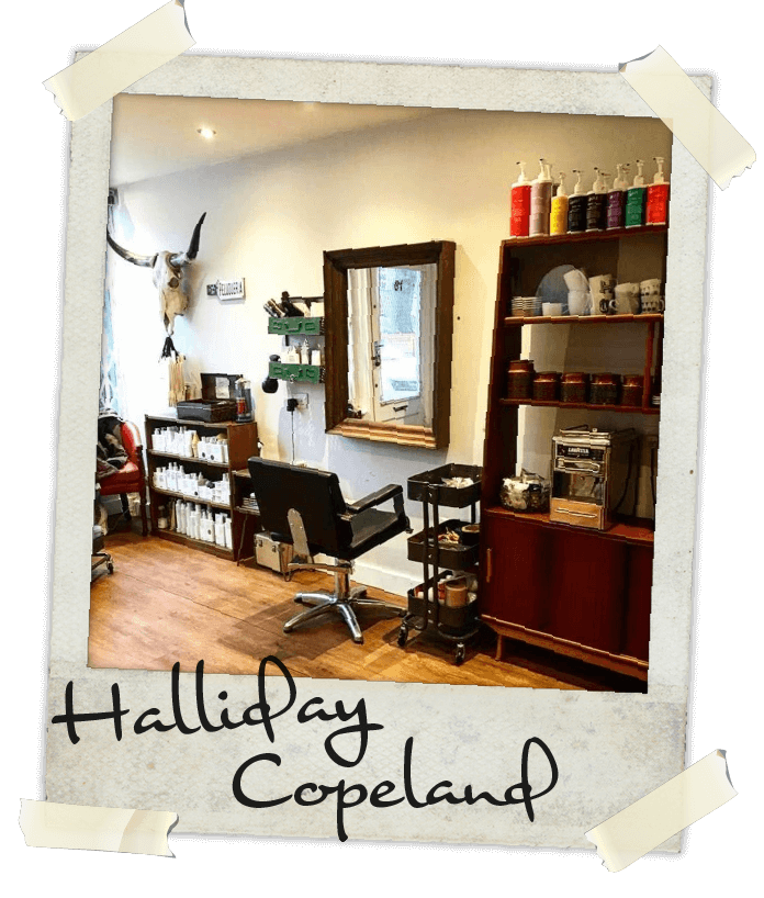 The Halliday Copeland hair salon in Kingston upon Thames, Surrey, UK