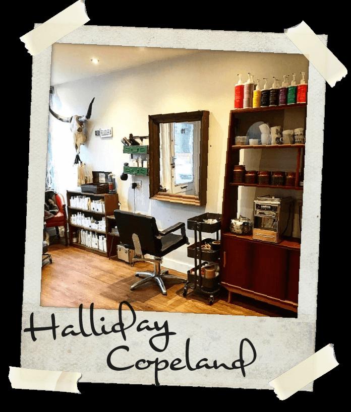 The Halliday Copeland hair salon in Kingston upon Thames, Surrey, UK