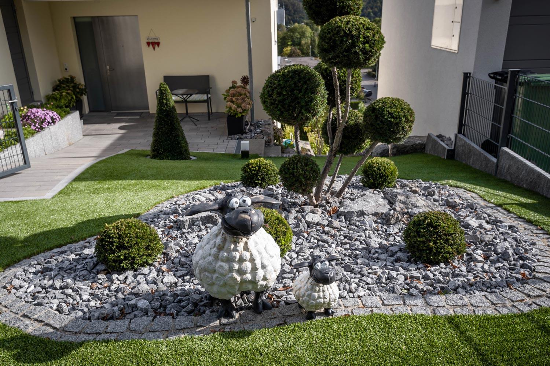 Gartenelemente Stamm Gartenbau