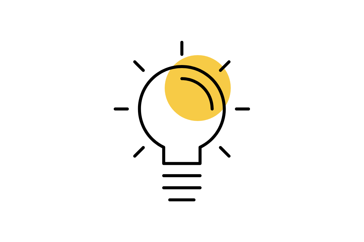 Icon of lightbulb