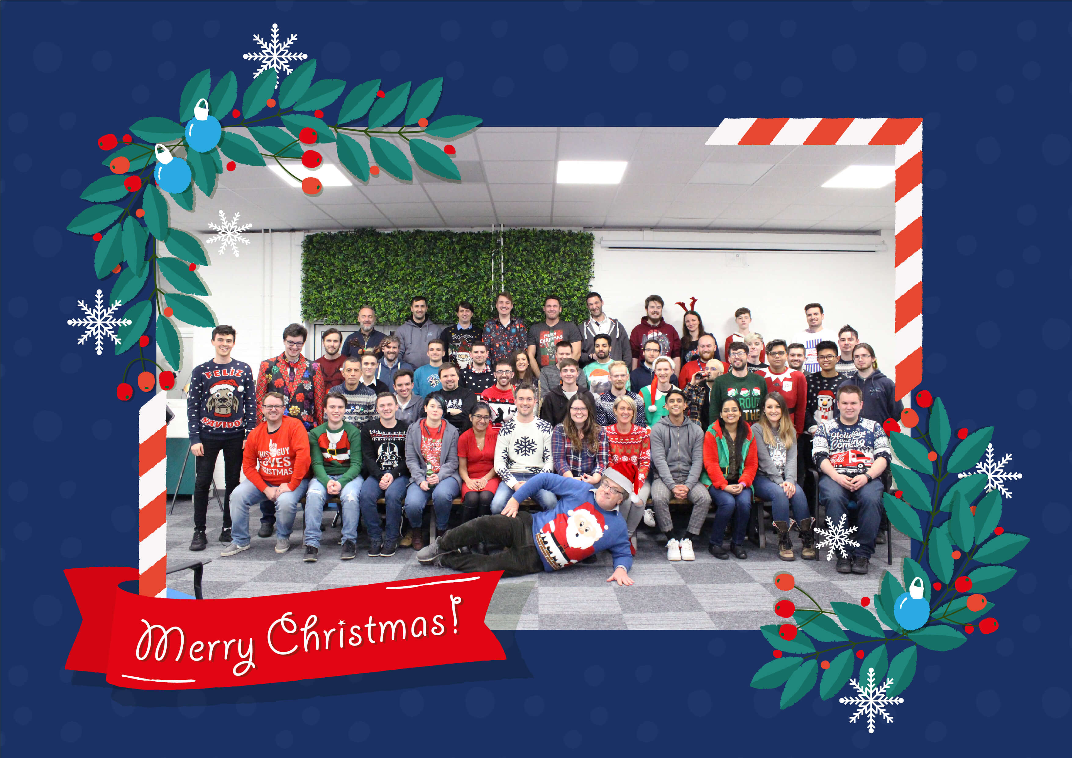 We'd like to take this opportunity to wish all of our customers, partners, staff and visitors all the best for this festive season. It's been an excellent year and we're excited to show you what will be coming up in 2020.
