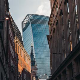 The Walkie-Talkie building in London