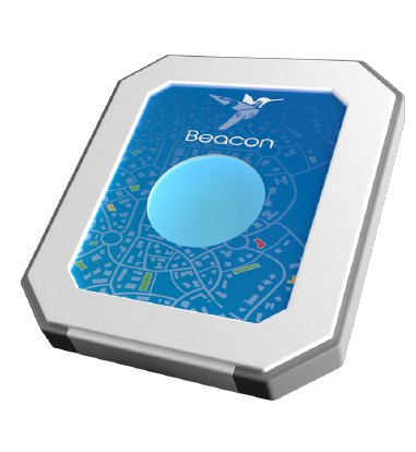 Metricell's Beacon. A fixed location network monitoring unit.
