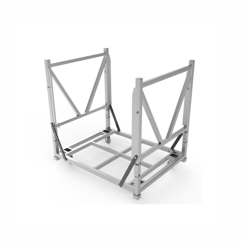 """Pro-Series® """"Clamshell"""" Barricade Cart"""