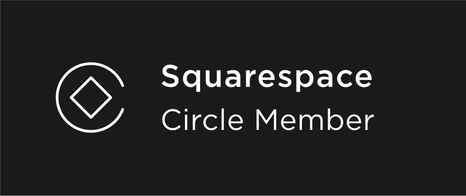 We are Squarespace Circle Members