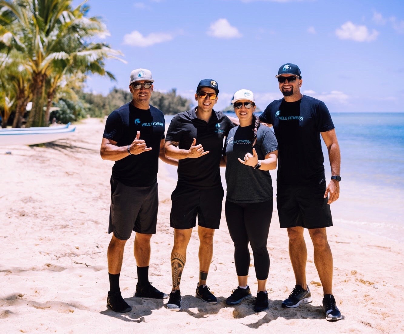 Founders & Partners of Hele Fitness
