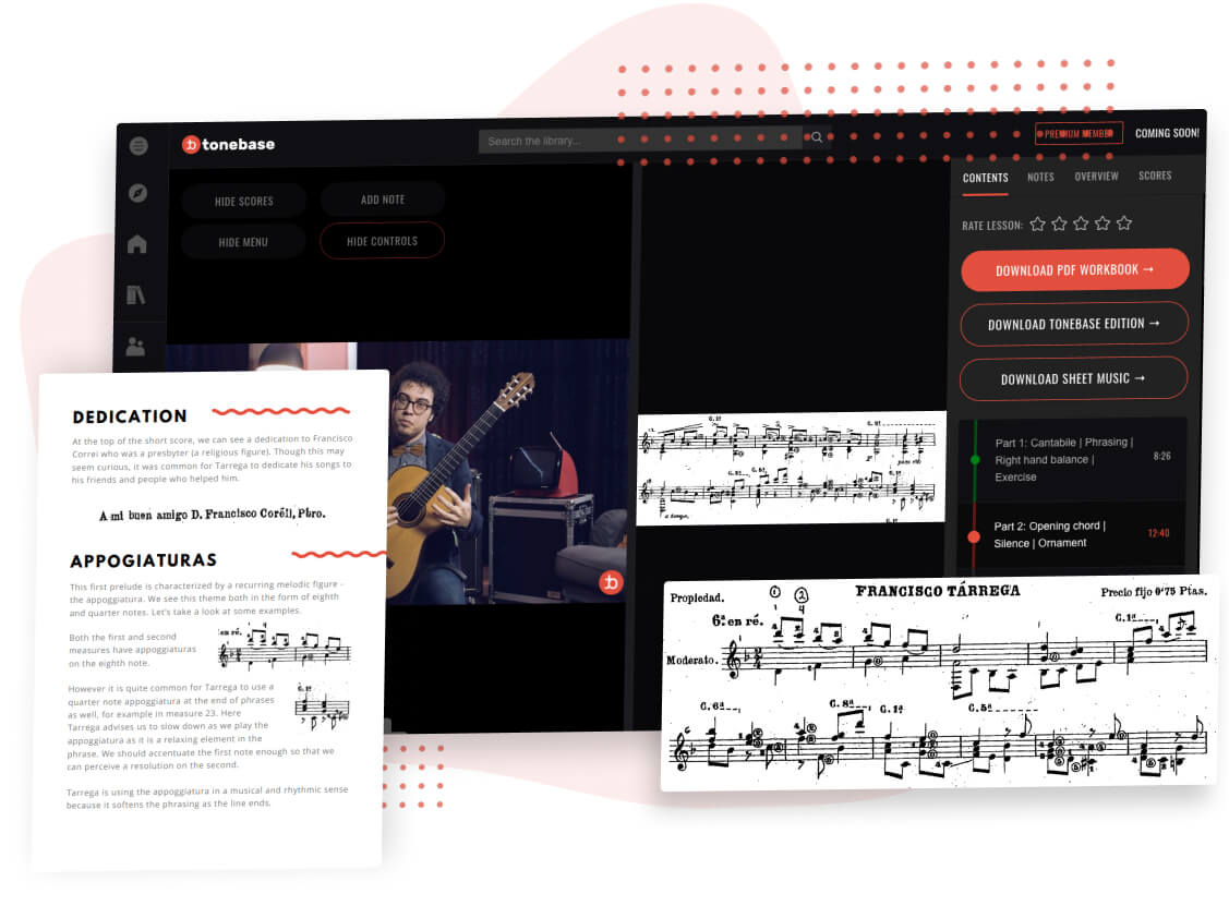 tonebase Platform - tailored for music education