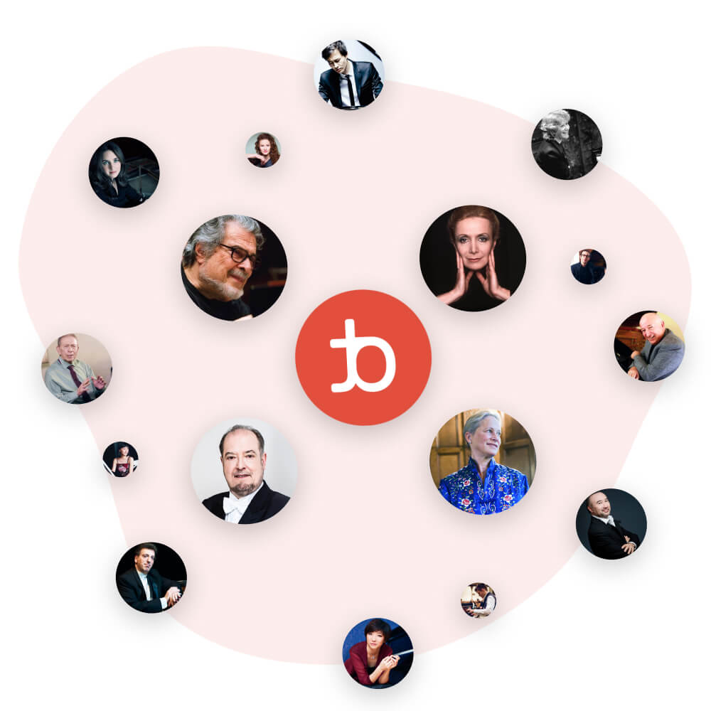 Artists on tonebase | Learn from over 25 world-class pianists on tonebase